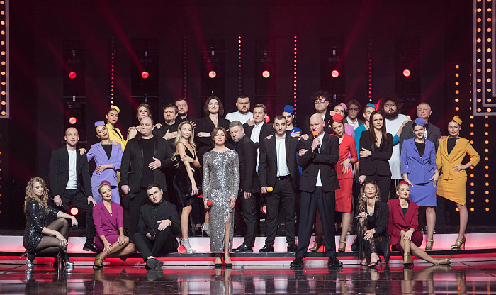 NEW YEAR'S 'VECHERNIY KVARTAL' SHOW BECAME THE BEST ENTERTAINMENT PROGRAM OF THE YEAR!