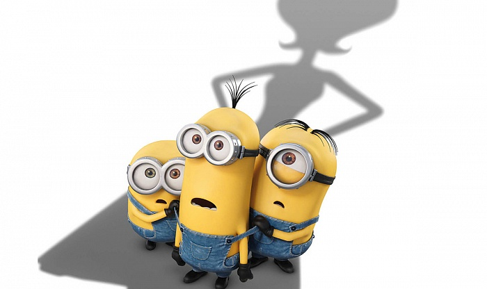In a new Universal Pictures animation 'Minions' world famous small yellow creatures are looking for a boss