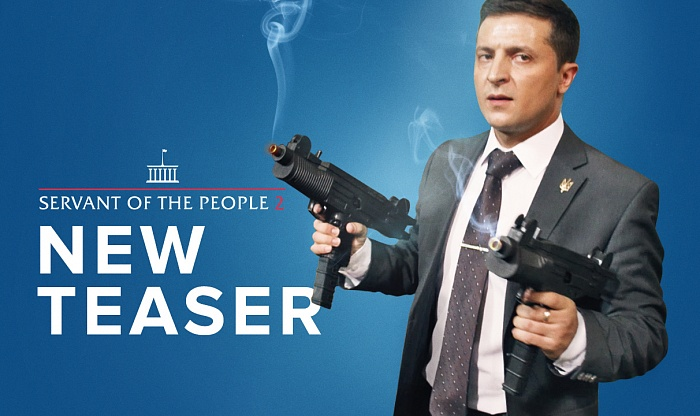 A NEW TEASER OF THE POLITICAL COMEDY SERVANT OF THE PEOPLE 2 CAME OUT