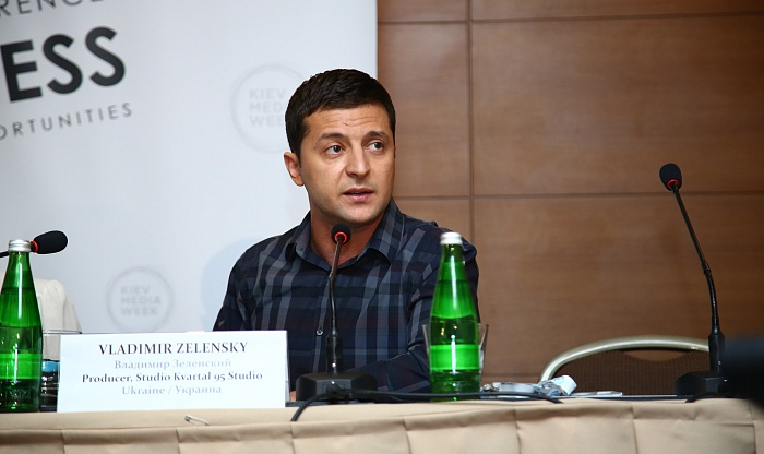 Vladimir Zelensky will be a speaker at KIEV MEDIA WEEK 2015